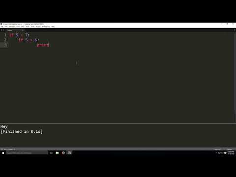 if else statement in python-Programming tutorial thumbnail