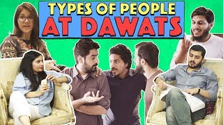 Types of People At Dawats | MangoBaaz