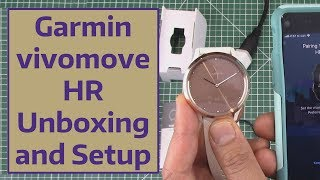Garmin vivomove HR Unboxing and Setup