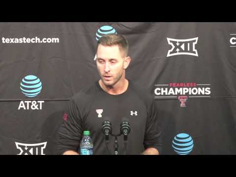 Kliff Kingsbury post game press conference: SFA