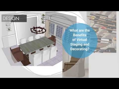 What are the Benefits of Virtual Decorating and Staging?