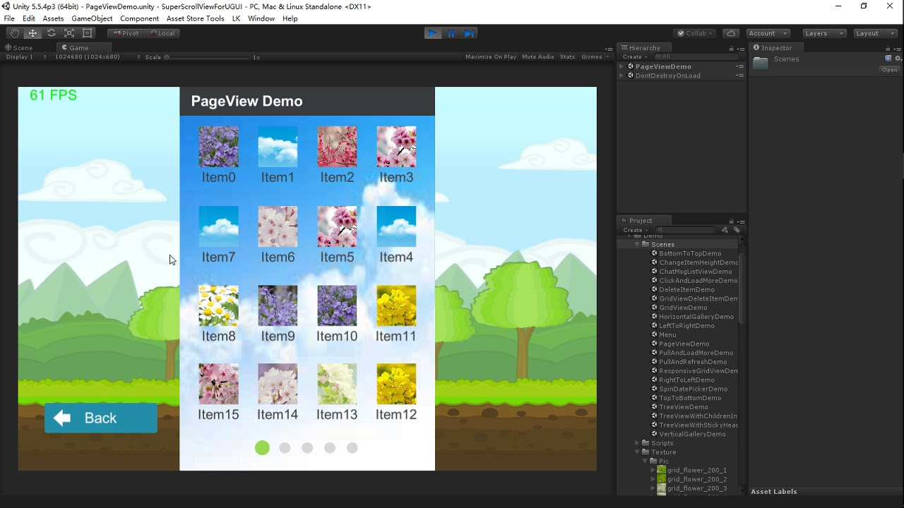 UGUI Super ScrollView | Unity AssetStore Price down