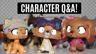 WHO DOES HE LIKE? | LPS Character Q&A