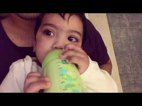 Qayyum Baby Terlajak Laris Hisap Botol Susu