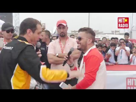 Hatim Ammor en direct du Marrakech Grand Prix