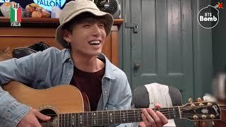 [SUB ITA] 190923 [BANGTAN BOMB] Let's play guitar! - BTS (방탄소년단)