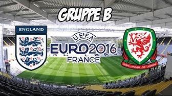 England - Wales | EM 2016 | Gruppe B | UEFA EURO Prognose