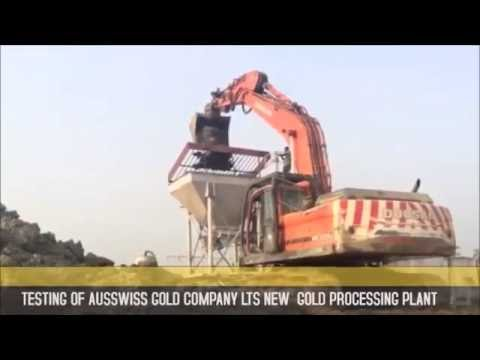 Alluvial Gold Processing Plant for Sale in West Africa
