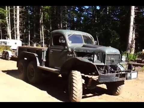 1951 Dodge Power Wagon 6X6 Hemi - YouTube