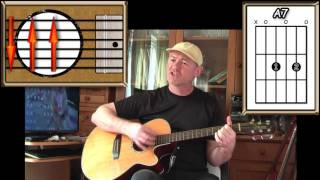 Old Red Eyes Is Back - The Beautiful South - Acoustic Guitar Lesson (easy)