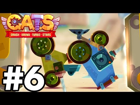 YOU WON'T BELIEVE THIS..!!!!  | C.A.T.S | Crash Arena Turbo Stars Gameplay Part 6