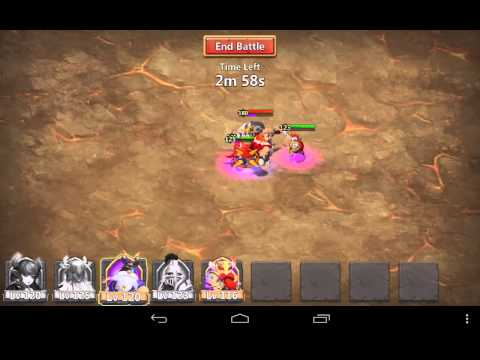 Castle Clash #3 Boss Battle Strategies