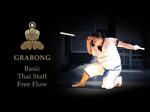 GRABONG - Traditional staff fighting - PAHUYUTH