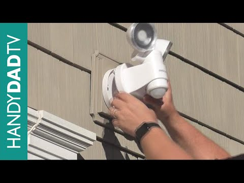 How to Install a Motion Sensor Light - Defiant DFI-5936