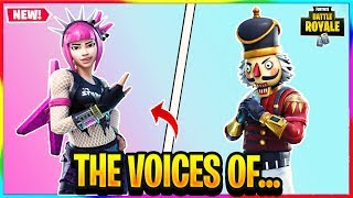 *NEW* THE VOICES OF POWER CHORD AND CRACKSHOT.... | Fortnite Battle Royale Lore
