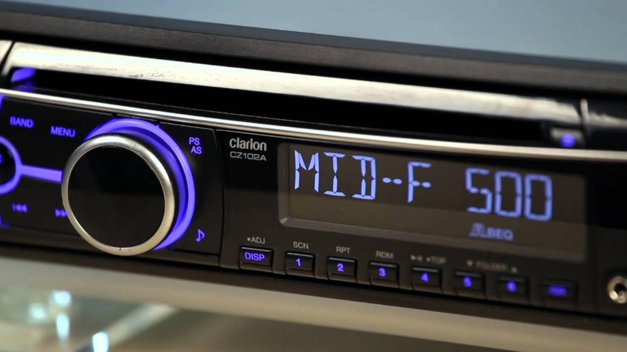 medium resolution of cz102 audio setup youtube clarion cz102 review cz102 audio setup clarion malaysia