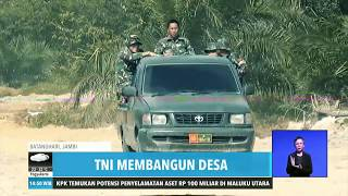 TNI Gagas Pembangunan Jalan dan Permukiman | REDAKSI SORE (11/08/19)