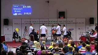 чемпионат Мира по жиму штанги лёжа 2013 федирация IPF часть 3