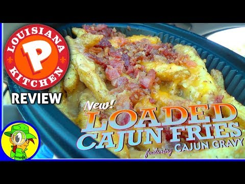 Popeyes® | Loaded Cajun Fries Review! ⚜🍟