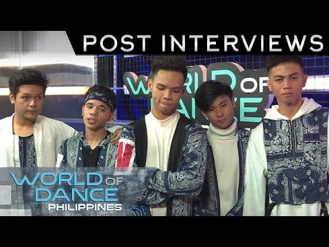 World Of Dance Philippines: B2WIN | Post-Interview