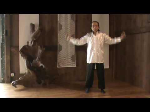 Therapeutic mindful stretching basic exercise