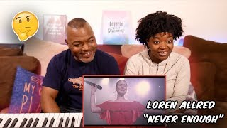 Download Lagu Loren Allred - Never Enough (Live Performance) | REACTION!! Mp3