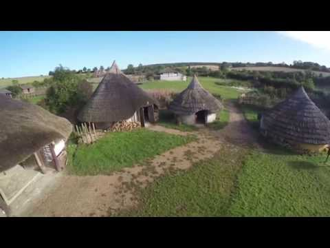 The History of Butser Ancient Farm & the Celtic Beltain Festival - Part 1