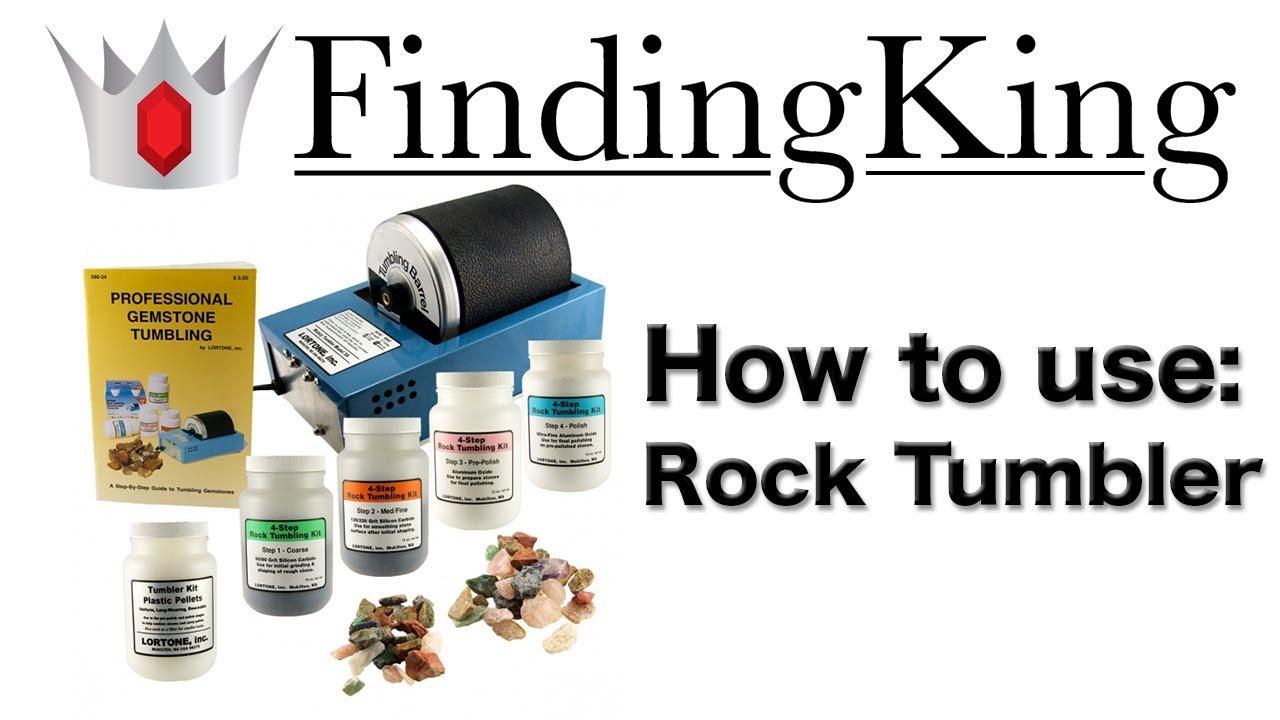How To Use A Rock Tumbler To Polish Rocks Youtube