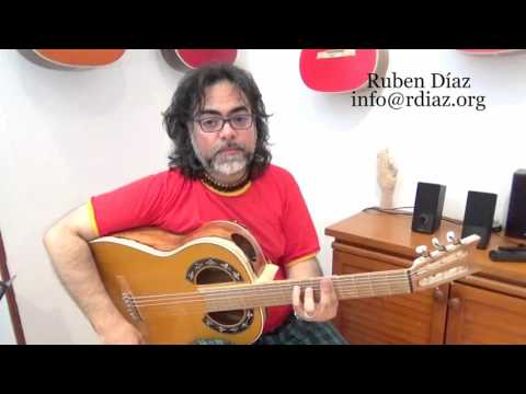 Learn Tanguillo 1 (por medio dm) modern flamenco online / Ruben Diaz lessons CFG Spain