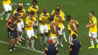 11 Goles de Colombia en Mundial Brasil 2014
