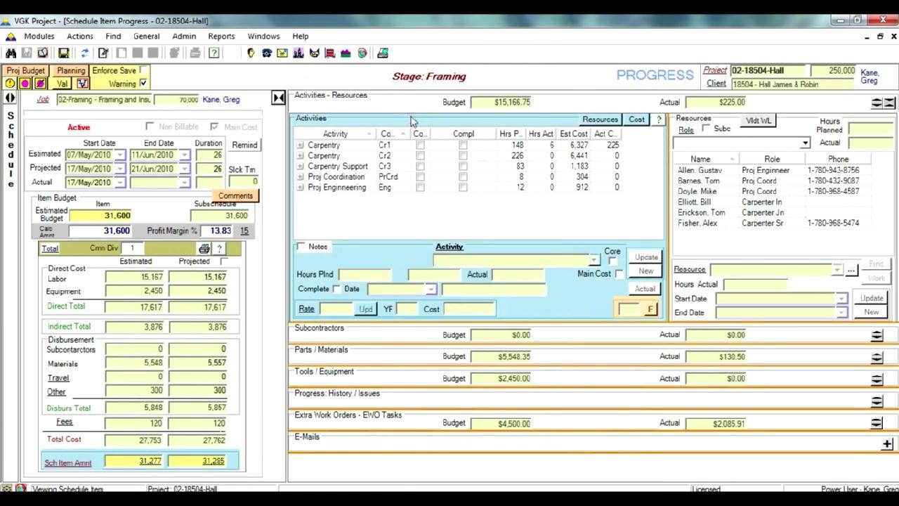 Project cost control tools vgk project management software youtube project cost control tools vgk project management software xflitez Gallery