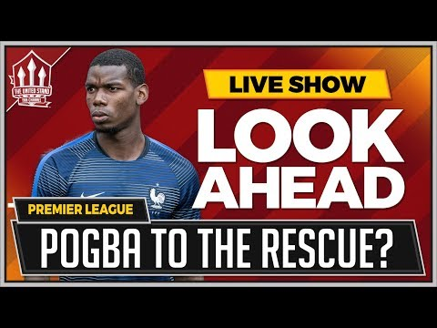 Pogba to Start! Man Utd vs Leicester LIVE Preview
