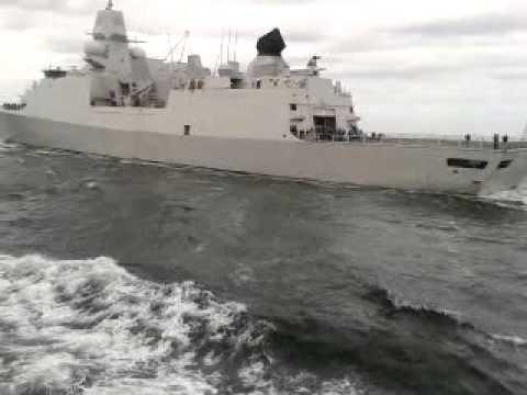 Wedstrijdje ZMS van Speijk en ZMS De Zeven Provinciën