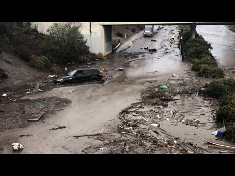 Death toll rises in deadly California mudslides