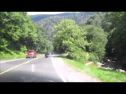 US 411 Smokie Mountain Highway from Cherokee, NC to Gatlinburg, Tn 7 16 14