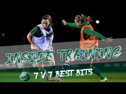 INSIDE TRAINING | 7 v 7 Best Bits