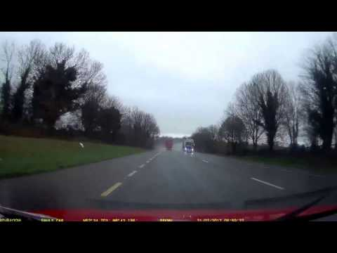 Drving in Ireland - View from a Dash Cam: Dooradoyle to Rourke's Cross
