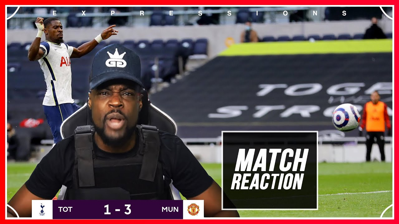 Download SEASON OVER!!! WE ARE FINISHED PLAYERS MANAGER EVERYTHING 🤬!   Spurs (1) vs Man U (3) EXPRESSIONS