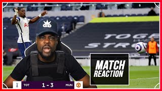 SEASON OVER!!! WE ARE FINISHED PLAYERS MANAGER EVERYTHING 🤬! | Spurs (1) vs Man U (3) EXPRESSIONS