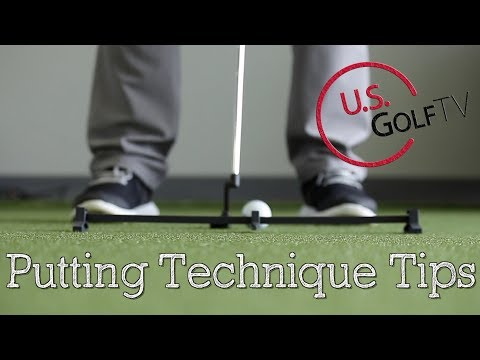 4 Tips to Improve Your Golf Putting Technique