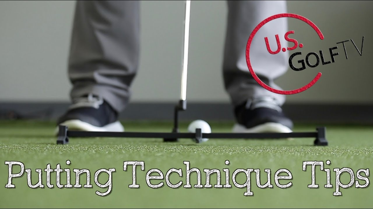 4 Tips to Improve Your Golf Putting Technique - YouTube