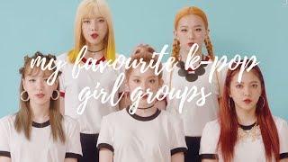 MY TOP 20 K-POP GIRL GROUPS