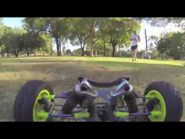 Drivers Seat - Grass Time RC Action