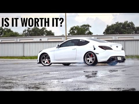 Automatic Genesis Coupe worth it? WE FIND OUT! 2.0 & 3.8