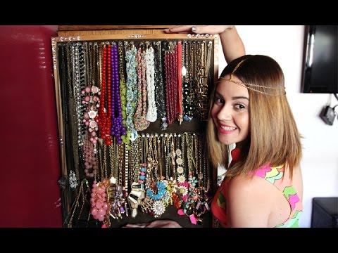 My Statement Necklace Collection U0026 Storage || Lucykiins