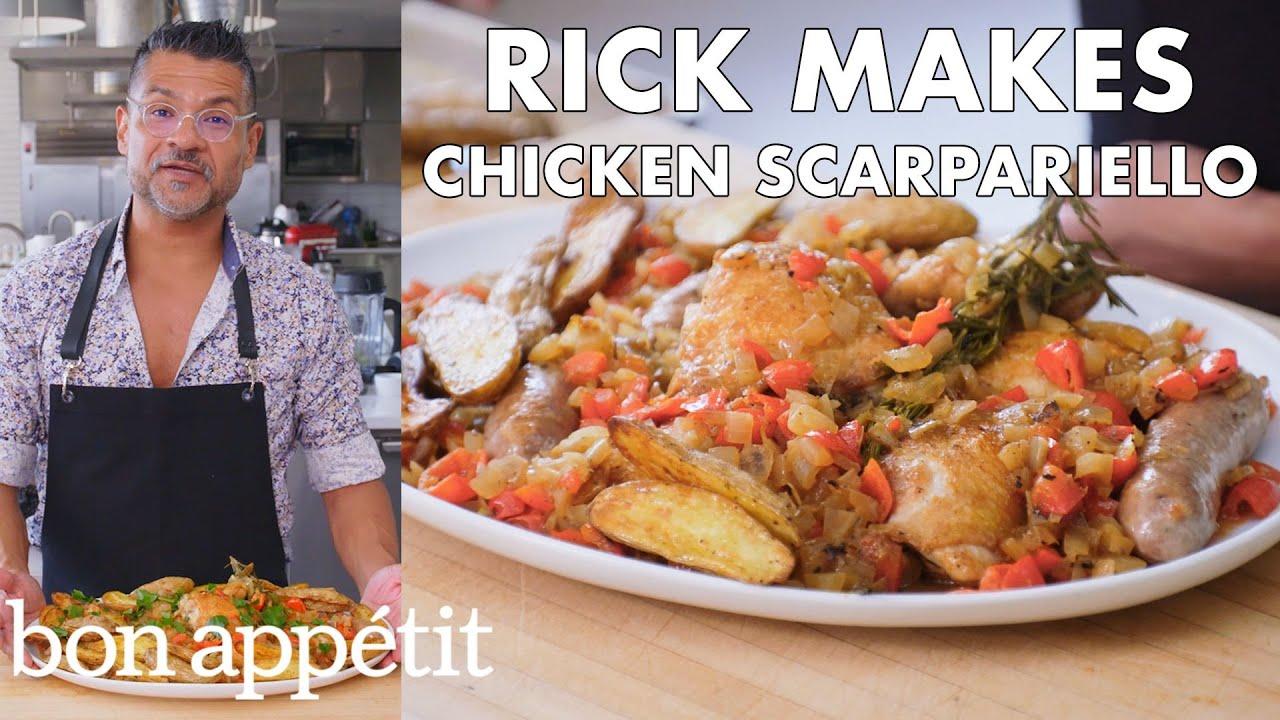 Rick Makes Chicken Scarpariello | From the Test Kitchen | Bon Appétit