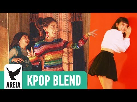 RED VELVET X MOMOLAND - Peek A Bboom | Areia Kpop Blend #14A