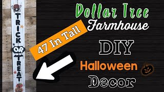 Dollar Tree DIY | Farmhouse Halloween Decor