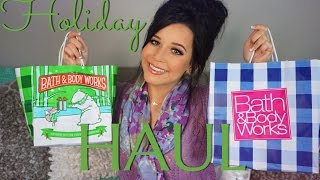 ♡bath & Body Works Holiday Haul!♡