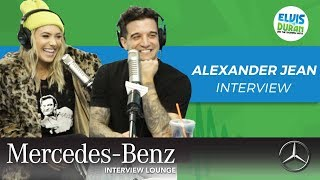 Alexander Jean on Working as a Married Couple and Kinky Boots | Elvis Duran Show